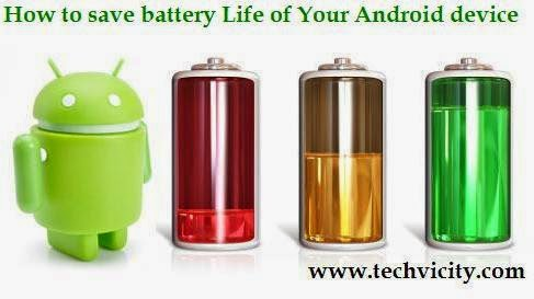 Improve battery life of your Android device
