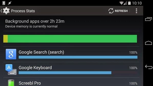 Developer Mode of Android 4.4 KitKat