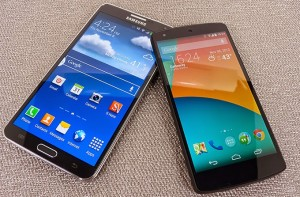 Battle between Samsung Galaxy Note 5 and iPhone 6 Plus