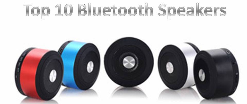 top 10 Bluetooth speakers