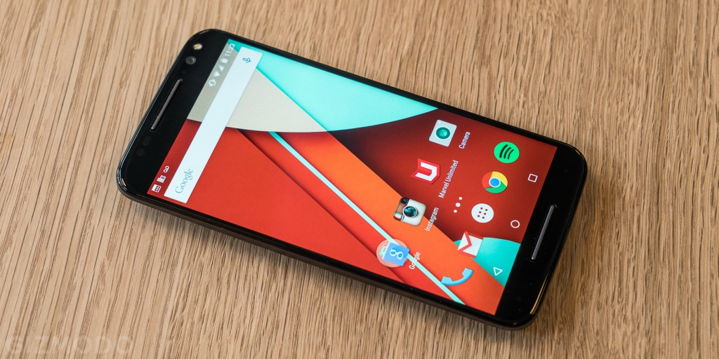 Moto X Style Review display
