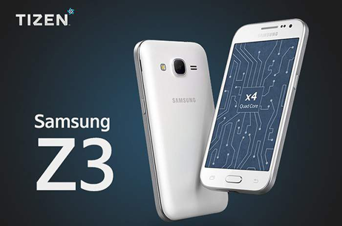 Samsung Z3 feature and specs