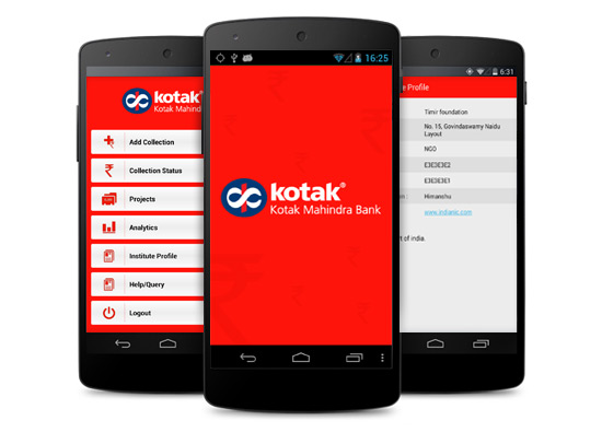 kotak mahindra mobile app without net