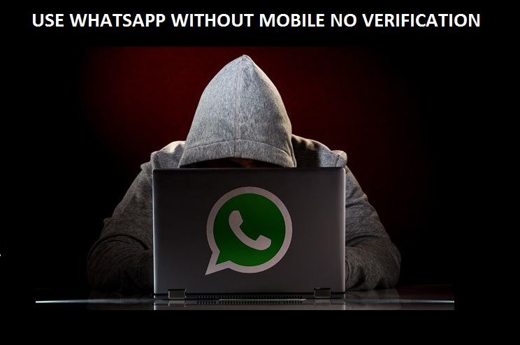 Use whatsapp without mobile no verification