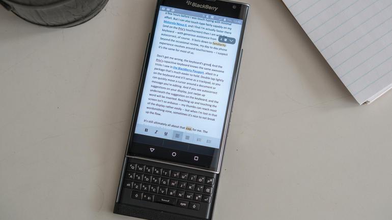 BleckBerry Priv