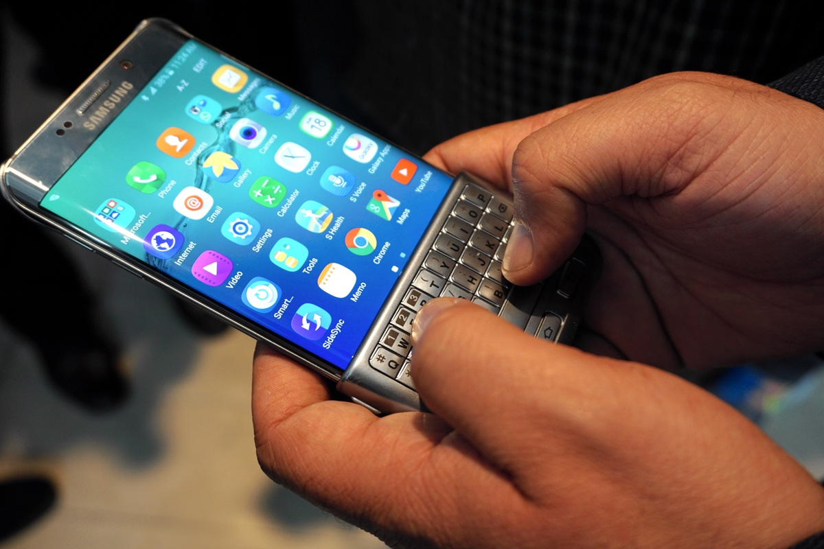 Samsung Galaxy S7 Edge to take you back to the keypad phones era?