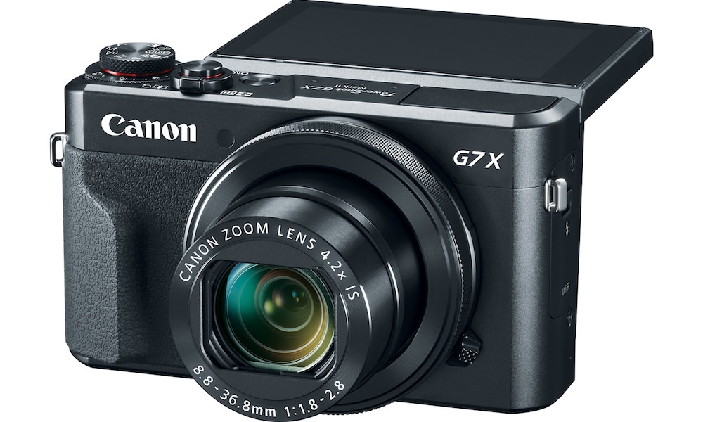 Canon Powershot G7 X Mark II announced