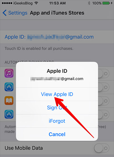 how to change itunes account on iphone how to change itunes account on your or iphone 1246