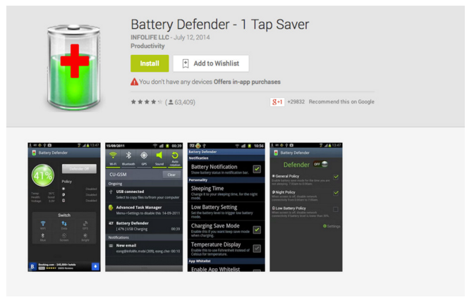 best battery saver for android