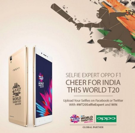OPPO F1 ICC World T20 limited edition launched