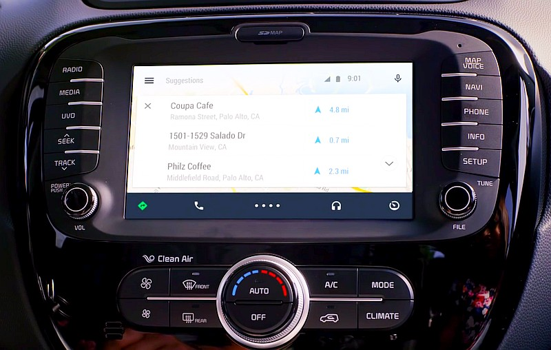 Android Auto Enters in India & 17 Countries