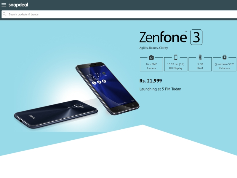 asus_zenfone_3_india_price_snapdeal
