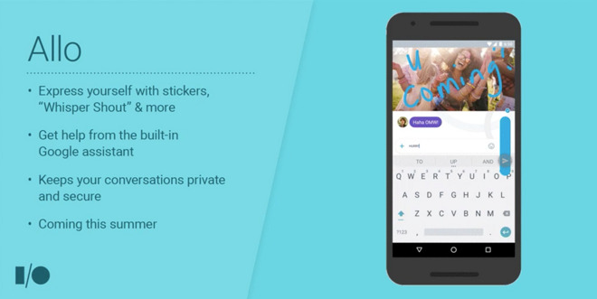 Google Allo arrives with wide array of features