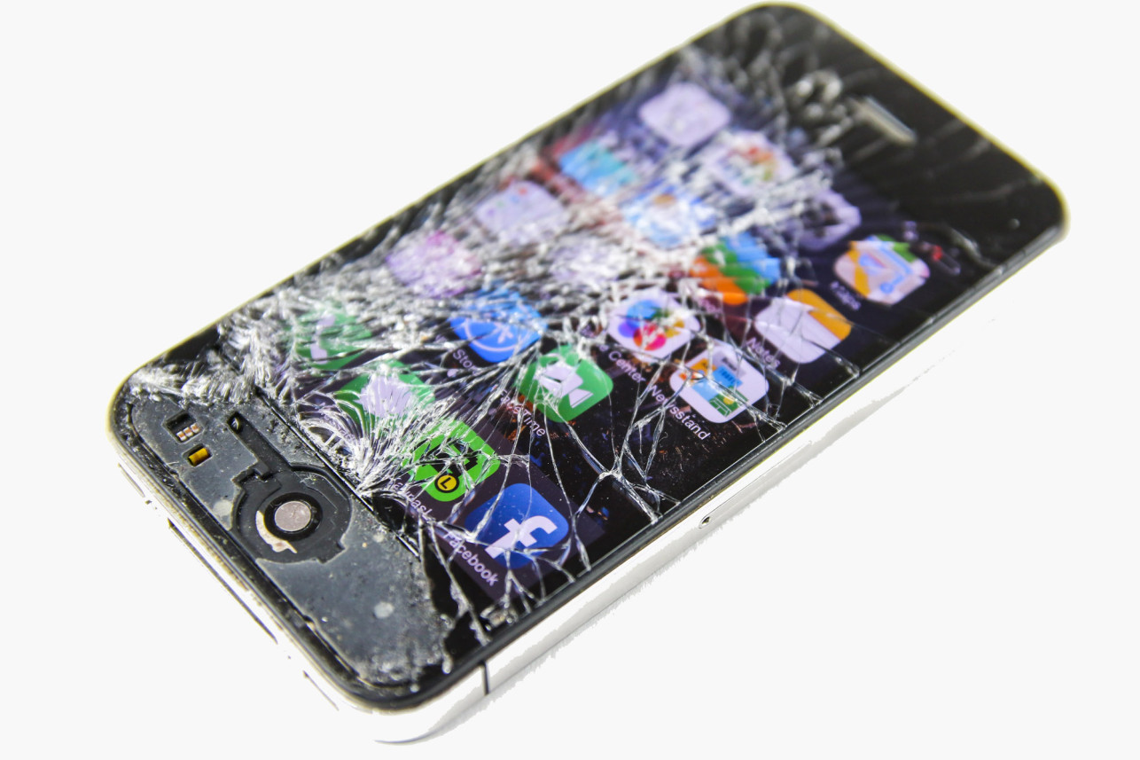 How To Fix Apple Iphone Cracked Screens