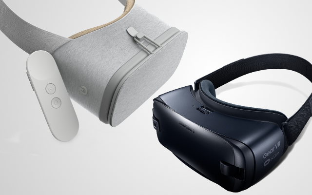 Samsung's gear VR and Google's Daydream View are the best possible VR headsets in the markettoday which are available at affordable prices