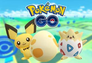 Pokemon Go Togepi Pichu