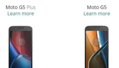 Moto G5/G5 Plus