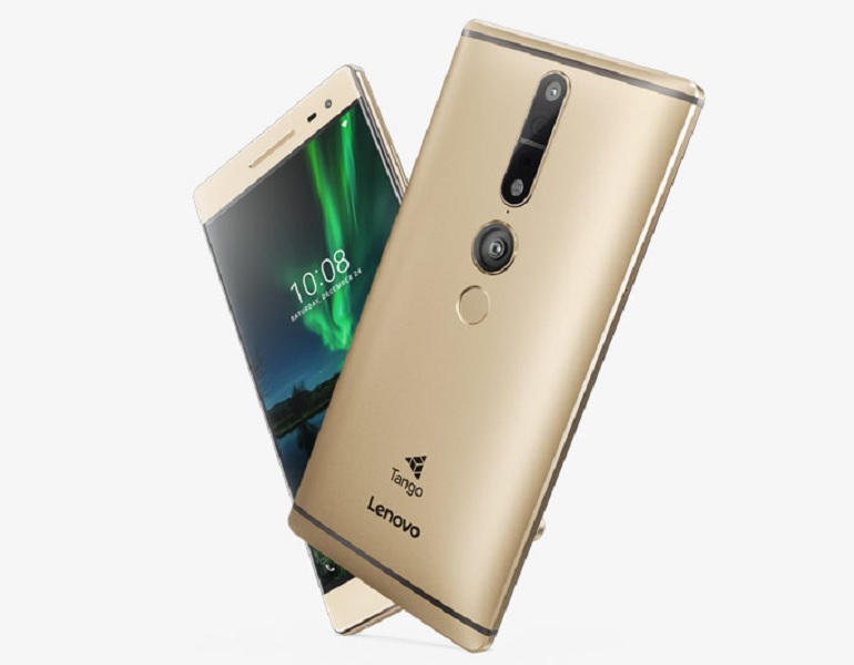 Lenovo Phab 2 Pro was the first smartphone to incorporate Google's Project Tango technology in it.