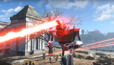 Iron giant-fallout 4