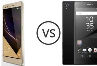 Huawei Honor V9 vs Sony Xperia XA2