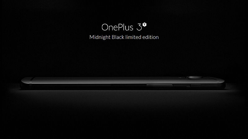 OnePLus 3T Midnight Black Edition