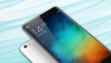 Xiaomi Mi 6 Render