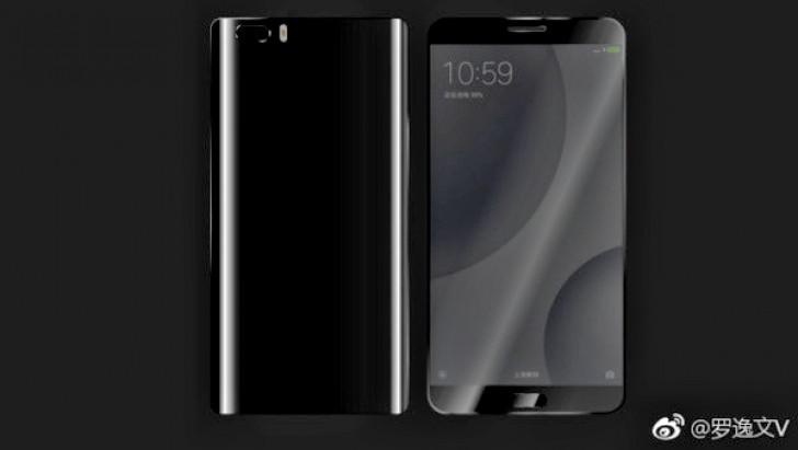 Xiaomi Mi 6 leaked render