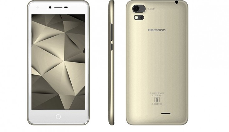 Karbonn launched two budget smartphones starting at ₹5290