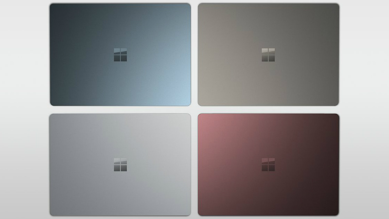 Design of Microsoft Surface laptop
