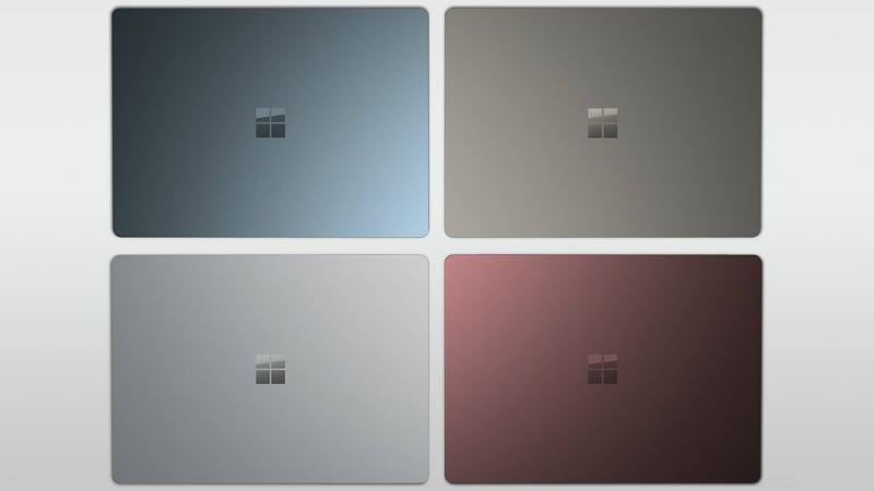 Design of Microsoft Surface laptop
