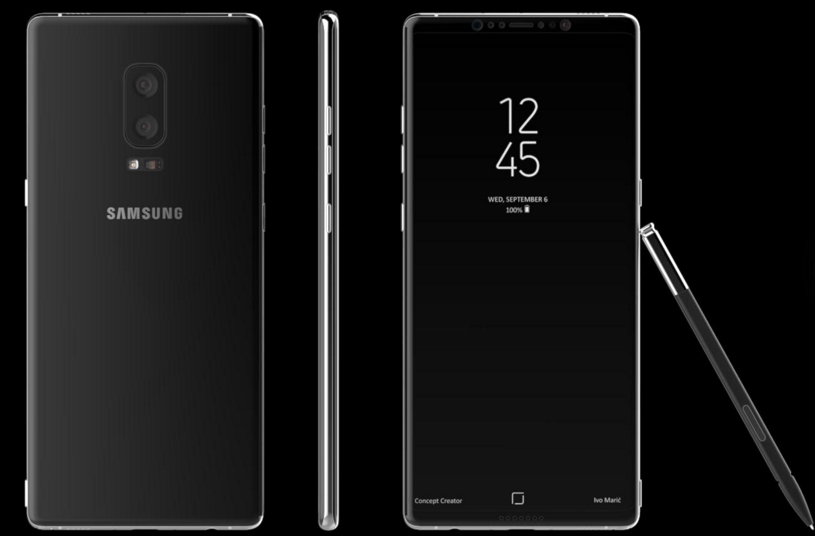 latest leaks of samsung galaxy note 8 hit the online media