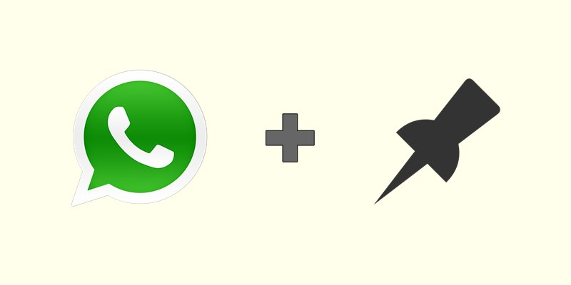 Whatsapp pinned chat feature now available for android users