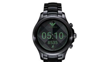 armani smartwatch