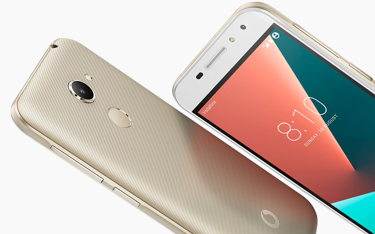 Vodafone Smart N8 With 5 Inch Display Screen Launched