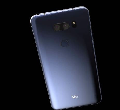 This LG V30 Mock-Up is Pretty Hot