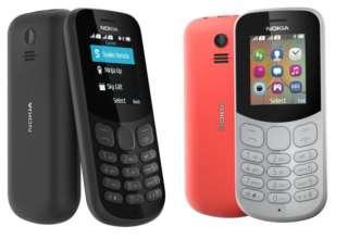 Nokia 105 (2017) and Nokia 130 (2017)