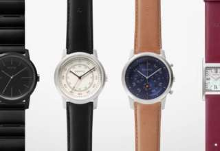 Sony Three Hands Square hybrid watch