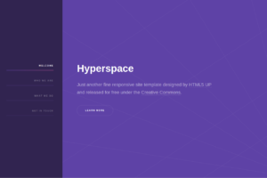 hyperspace-bootstrap-theme