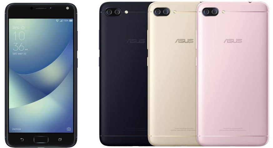 Asus Zenfone 4 and a smaller Zenfone 4 Max also leak