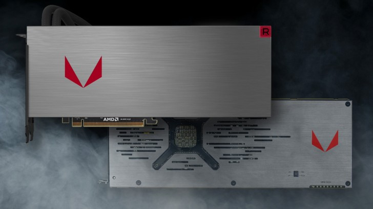 Radeon Vega 64 liquid cooled variant