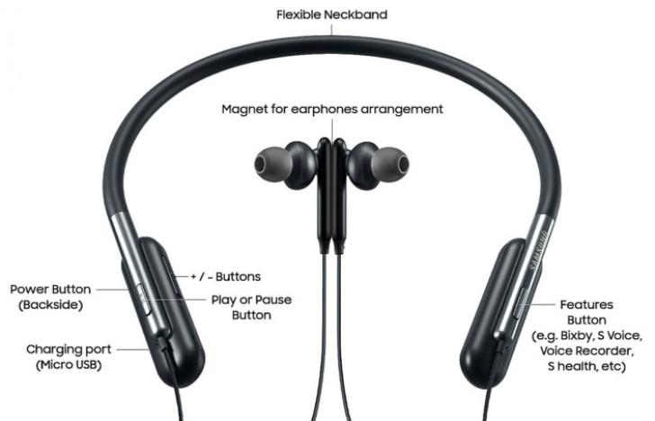 Samsung U Flex Bluetooth headphones