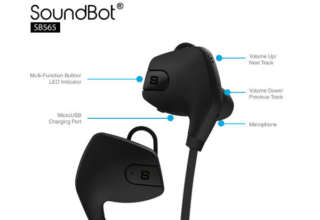 SoundBot bluetooth headphones