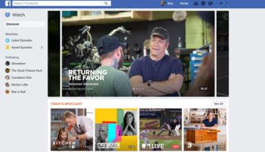 Facebook Watch Features