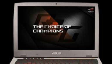 Asus ROG G701gaming laptop