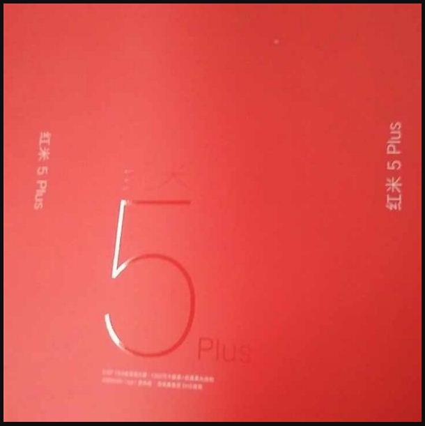 Redmi Note 5 Plus Is Coming, Leaked Retail Box Suggests