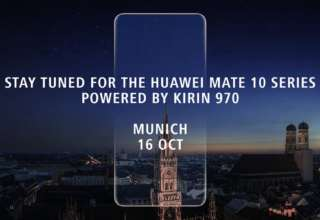 Huawei Mate 10 Launch Date