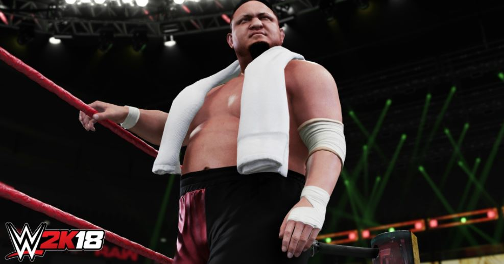 WWE 2K18 also on the way to PC