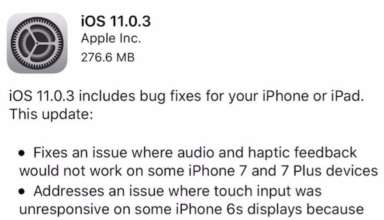 Apple iOS 11.0.3