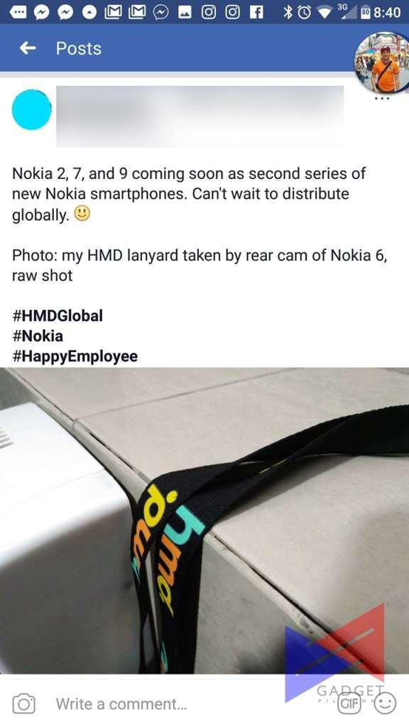 HMD Global employee tag