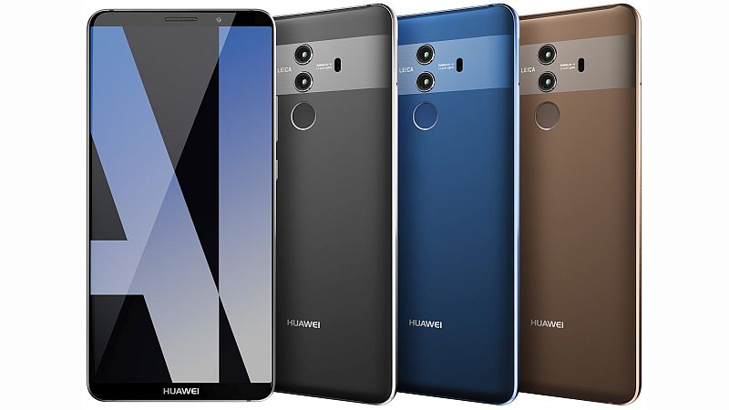 Huawei Mate 10 Pro renders leak online, reveal dual-rear camera setup